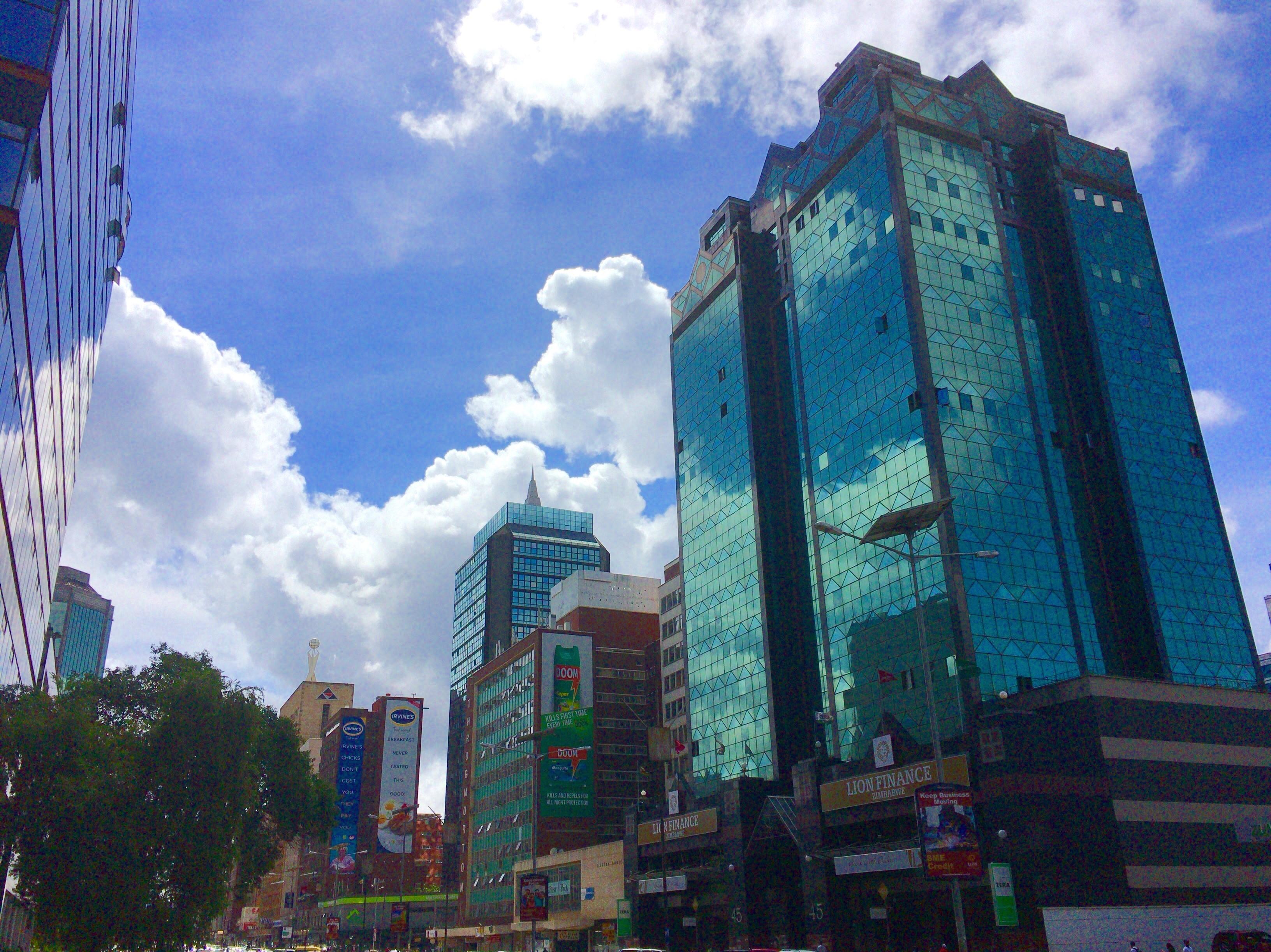 観光大国ジンバブエの首都ハラレ...