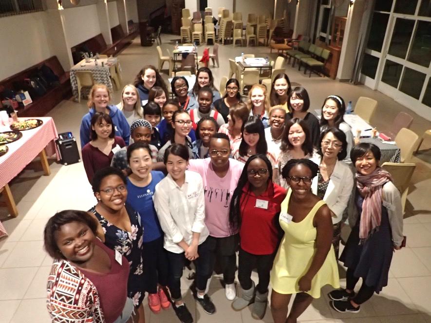女性のエンパワーメントについて議論 in プレトリア大学