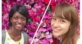 シェリーココを支える若きベナン人女性ベルアンジュさん来日インタビュー!♡